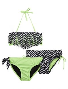 Shop 3 Piece Tribal Bikini Swimsuit and other trendy girls bikinis clearance swimsuits at Justice. Find the cutest girls clearance swimsuits to make a statement today.