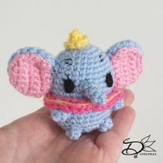 ♥ Dumbo Ufufy Amigurumi - Delinlea - My little fantasy world