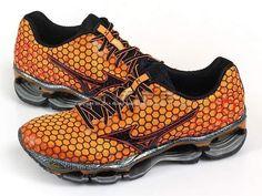 Mizuno Wave Prophecy 3 Orange/Black/Red 2014 Expert Running Shoes J1GR140070