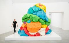 Jeff Koons Now, curated by Damien Hirst, is at the Newport Street Gallery until October 16