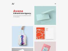 Avana: Minimal portfolio template for agencies - Free Vector Art, PSD Templates, Free Fonts & Graphics Html Website Templates, Psd Templates, Team Page, Minimalism, Coding, Creative, Free, Photoshop, Link
