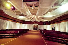 Exceptional Weddings and Events -- www.exceptionalweddingsandevents.com- Wall and Ceiling Draping- lighting