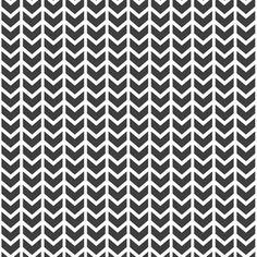 Hawthorne Threads - Isometry - Broken Chevron in Onyx