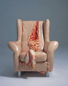 Exposed Guts Arm Chair