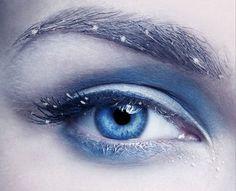 Добавляем морозный эффект на глаза в Фотошоп
