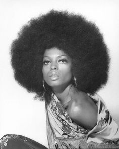 Afros? Yeah she can rock it. | 26 Photos Proving Diana Ross Invented The Concept Of Fierce