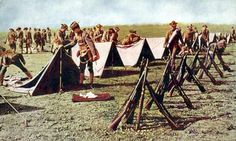World War I - In Spring 1917 the first Americans arrived in Europe to take part in the Great War.