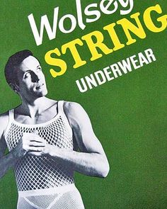 c0accfdc9 Men s string vests originated in the 1930s as a US extreme weather military  clothing item -