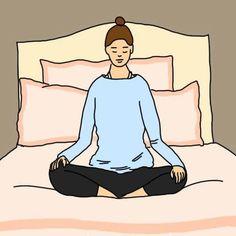 гимнастика перед сном (ассаны йоги)