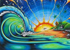 Google Image Result for http://drewbrophy.com/site/wp-content/gallery/surf-art-paintings/Sunrise-surf-art-Painting-drew-painting.jpg