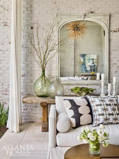 House Tour:  A Beautiful Mix of Designer Style