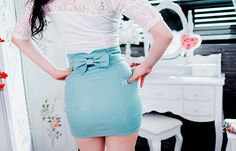 That skirt is oh so cute, but its also oh so way too short!!!leggings should do the trick! :)