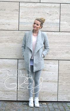 Outfit // Two shades of grey