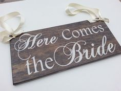 Solid wood signs created just for you on that special day! Can also be used as home decor for a keepsake!  Ring Bearer or Flower Girl Sign  Solid