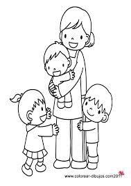 La Convivencia Familiar El Valor Mas Importante Para Tener Una Estabilidad Emocional Y Fisica Qu Paginas Para Colorear Familia Feliz Dibujo Dibujos Para Ninos