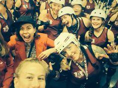Team Roller Derby Danmark. World Cup in Dallas Texas 2015 #JuggernatJelly #CphRollerDerby #rollerderby #teamrollerderbydenmark #teamdenmarkrollerderby #Dallas #Texas #WorldCup #denmarkallstars #denmark