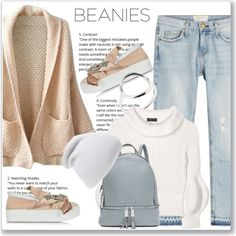 A fashion look from October 2016 featuring WithChic cardigans, Burberry sweaters and Current/Elliott jeans. Browse and shop related looks.