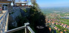 San Marino city, Republic of San Marino, Nikon CoolpixB700, 5.4mm, 1/800s, 1/500s, ISO100, f/3.5, panorama segment 4, Nikon HDR photography, 201904191656 #SanMarino City Of San Marino