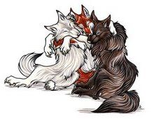 Anime Wolves On Pinterest Wolf And White