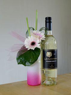 Witte wijn, pretty in pink