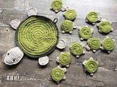 Turtle crochet pattern, Turtle Amigurumi, Crochet Baby Toy, crochet baby turtle pattern, learning toy