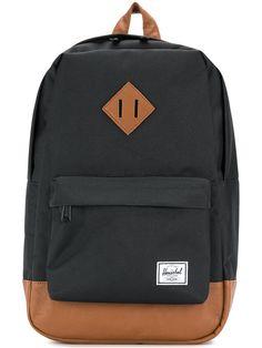 Herschel Supply Co. Mochila Herschel, Herschel Backpack, Herschel Heritage Backpack, Herschel Supply Co, Brown Backpacks, Designer Backpacks, Black Backpack, School Bags, Black And Brown