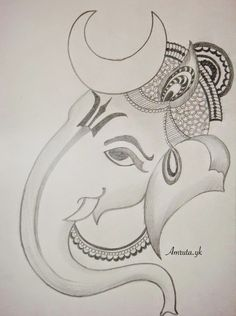 Ganesha Sketch 11 - 690 X 925 Ganesha Sketch, Ganesha Drawing, Ganesha Painting, Ganesha Art, Ganpati Drawing, Lord Shiva Sketch, Art Drawings Sketches Simple, Girl Drawing Sketches, Art Drawings For Kids