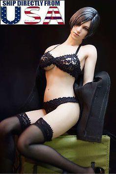 1//6 Lace Lingerie Bra Panties Stockings For PHICEN TBLeague Female Figure ❶USA❶