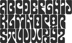 Výsledek obrázku pro hippie font