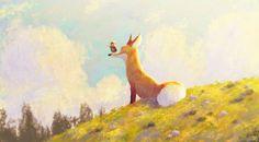 Prince of Sunflower scene 2 by Gop Gap on ArtStation.