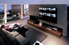 Stylish Dark Living Room Decorations