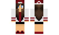 minecraft skin Cute-brunette-tomboy Find it with our new Android Minecraft Skins App: https://play.google.com/store/apps/details?id=studio.kactus.girlskins
