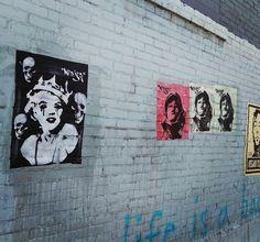 Street Art  Stencils / Multiple layers /  Wheat Paste Art / Street Art…
