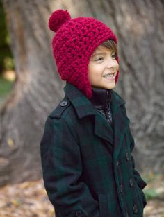 Free Crochet Pattern Toboggan Hat Lion Brand® Wool-Ease® Thick & Quick®