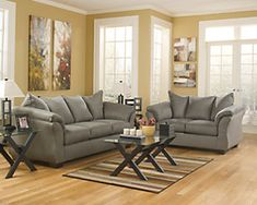 Darcy Sofa | Ashley Furniture HomeStore Living Room Sets, Living Room Furniture, Cool Couches, Sofa And Loveseat Set, Comfortable Sofa, Best Sofa, Contemporary Style, Love Seat, Upholstery
