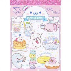 San-X Mamegoma Cafe Menu Mini Memo Pad (◕ᴥ◕) Kawaii Panda - Making Life Cuter Menu Illustration, Princess Illustration, Sanrio Characters, Cute Characters, Notes For Friends, Jake The Dogs, Cute Notes, Modes4u, Cafe Menu