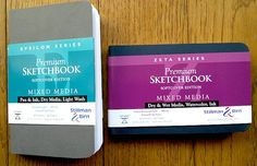 """""""For artists who like the Moleskine Watercolor Album's horizontal format, it is still a decent pocket sketchbook for watercolor -- although I have noticed the paper now isn't as ink friendly as it used to be.  For the best pocket sketchbook out there today I would have to include the twelve Stillman and Birn 3.5 X 5.5 inch softcover sketchbooks (Alpha, Beta, Gamma, Delta, Epsilon and Zeta in either vertical or horizontal format). They work well with all media, including my own favorites, ink…"""