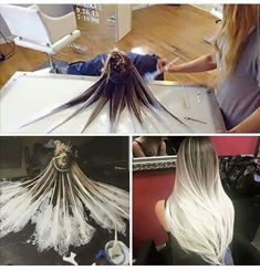 Pretty! I want to do this to my daughter's hair when she grows it out.