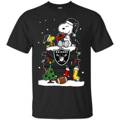 Oakland Raiders shirts Snoopy Christmas T-shirts Hoodies Sweatshirts - balana.shop