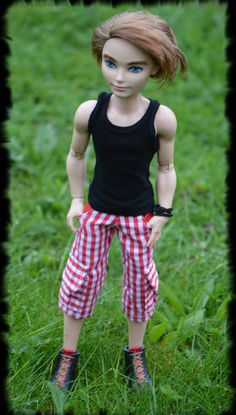 Shorts and top for EAH boy by LucieVran on Etsy