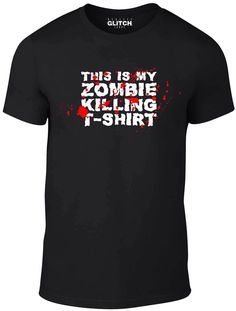 This is my zombie killing t shirt Size T Shirt undead killing large size Cool T Shirts, Awesome, Mens Tops, Shopping, Ebay, Women, Fashion, Moda, Women's