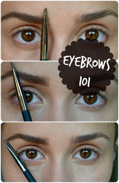 Eyebrows 101: How to fill them in and keep them in shape