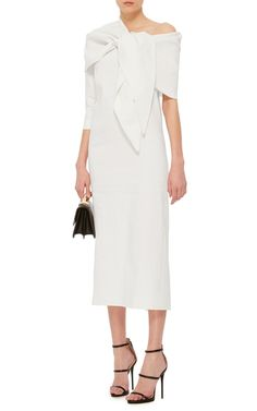 8067ad070f This   Isa Arfen   dress is rendered in stretch linen and features an