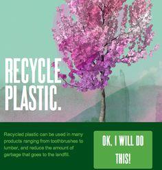 ow.ly/albdk Recycle plastic!!!!!!