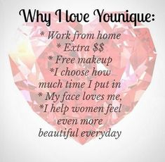 Why I love Younique! https://www.youniqueproducts.com/BeautybyCatherine/products/kudos#.WwHxQYFOmyU