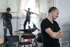 Tristan und Isolde by Giorgio Mancini - Work in progress with Dorothée Gilbert and Mathieu Ganio - Danseurs étoiles Opéra de Paris - Picture: James Bort
