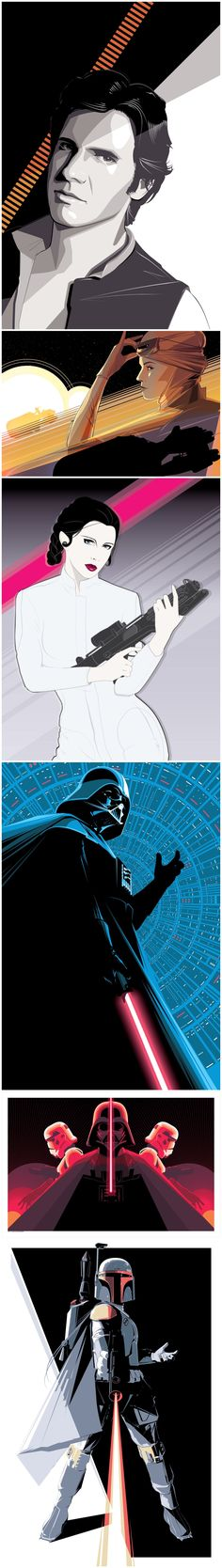 Star Wars Illustrations - Created by Craig Drake