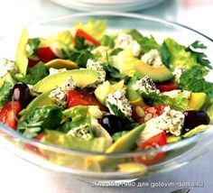 A light dish of grilled chicken fillets and authentic salad with Kalamata olives, feta cheese, tomato and mint, from BBC Good Food. Greek Salad Recipes, Salad Recipes Video, Bbc Good Food Recipes, Cooking Recipes, Amazing Recipes, Feta Tomato Salad, Avocado Salad, Pasta Salad, Healthy Salads