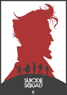 Suicide Squad Redesign Poster Created •Lewis Dowsett...I know nothing about this but excitement, yay