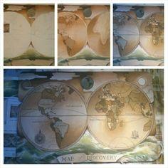 Wereldkaart Decorative Boxes, Home Decor, Room Decor, Home Interior Design, Home Decoration, Interior Decorating, Home Improvement